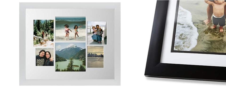 Mixed Six Up Landscape Collage Deluxe Mat Framed Print