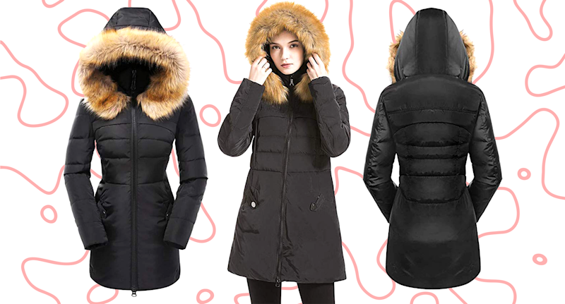 Available in 10 different colorways, sizes XXS to 3XL and moderately priced at $90 to $130, it's no wonder this trendy coat is getting so much attention. (Photo: Amazon; Yahoo Lifestyle)