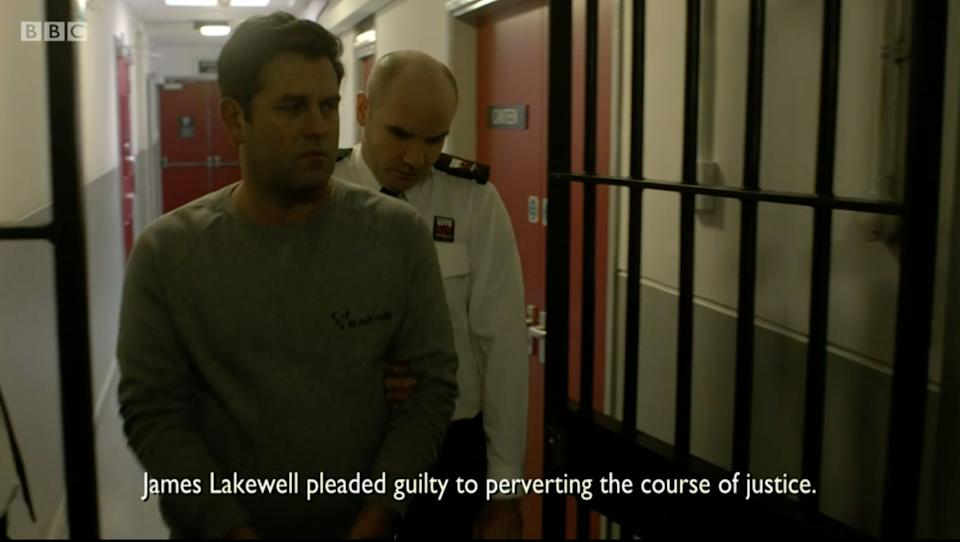 Lakewell was sent to prison where he has remained since (Photo: BBC)