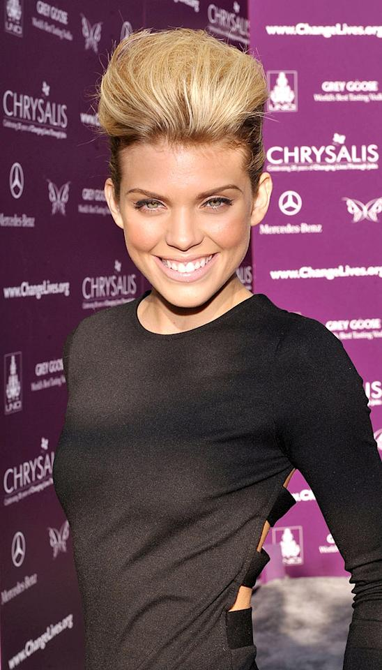 """Is that """"90210"""" minx AnnaLynne McCord or the Bride of Frankenstein? You make the call. John Shearer/<a href=""""http://www.wireimage.com"""" target=""""new"""">WireImage.com</a> - June 6, 2009"""
