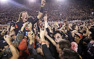 Travis Wilson and the Utes have fans in Salt Lake City riled up. (AP)