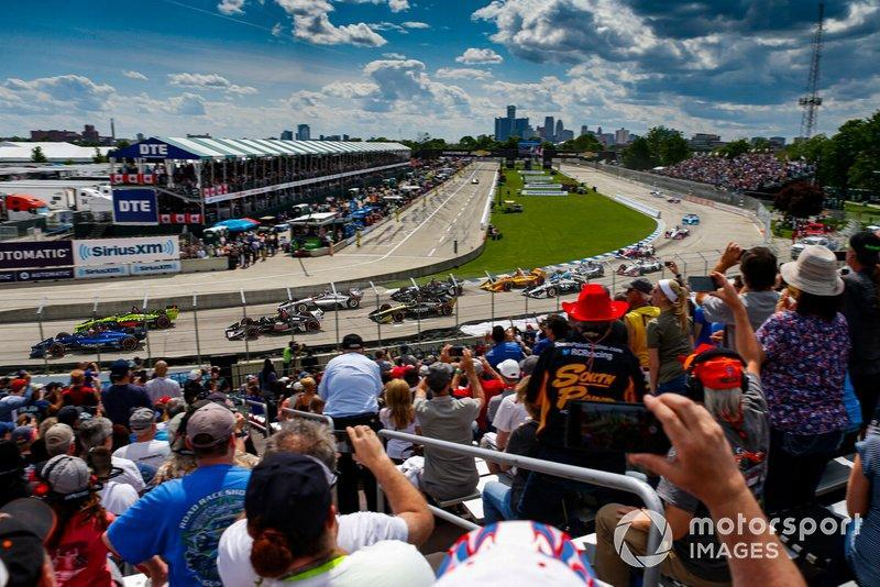 "#10: The Raceway at Belle Isle (Detroit) - 114,831 mph<span class=""copyright"">Jake Galstad / Motorsport Images</span>"