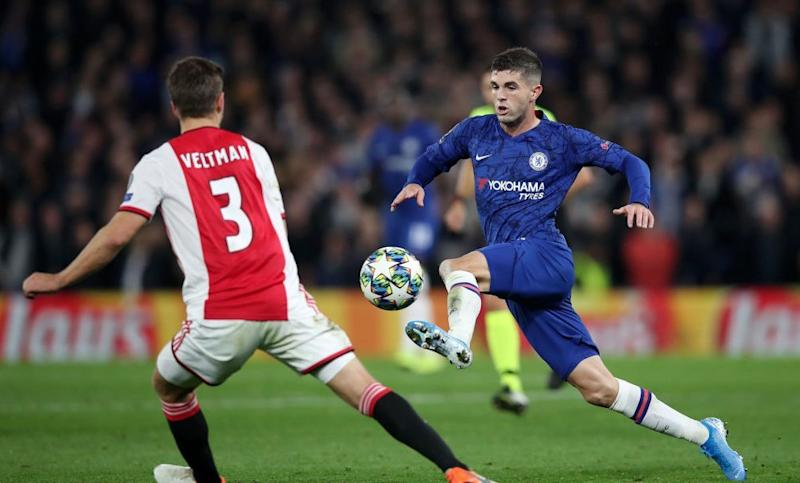 Pulisic On Chelsea S Wild Draw V Ajax Ucl Hopes
