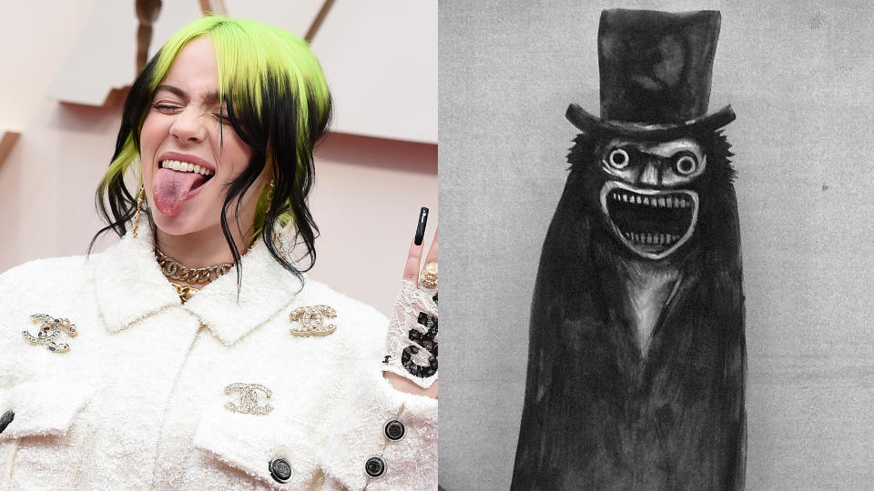 Billie Eilish has revealed she loved 'The Babadook' during her younger years. (Credit: Jordan Strauss/Invision/AP/Icon Distribution)