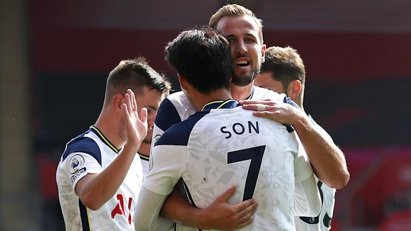 Son Heung-min and Harry Kane star as Spurs hammer Saints