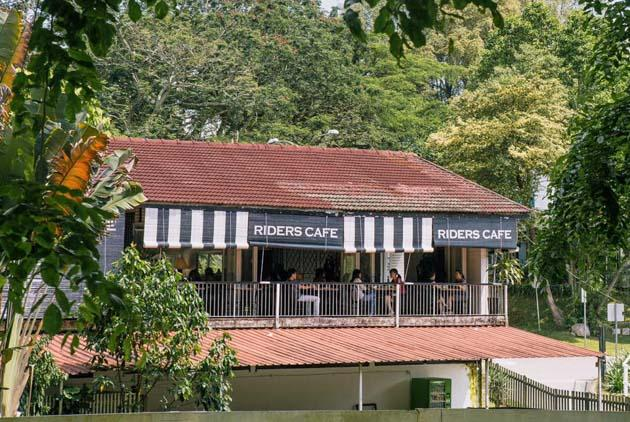 Riders Cafe Opening Hours
