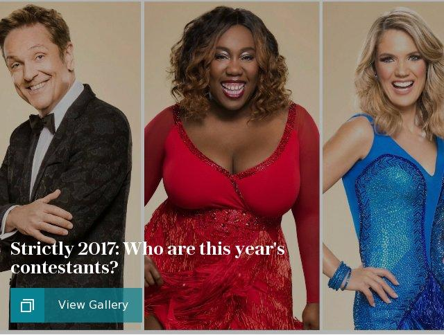 Strictly 2017: Who are this year's contestants?