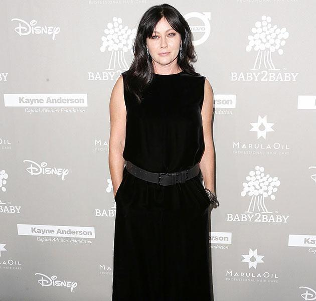 Shannen poses for snaps on the red carpet of an event in 2015. Source: Getty