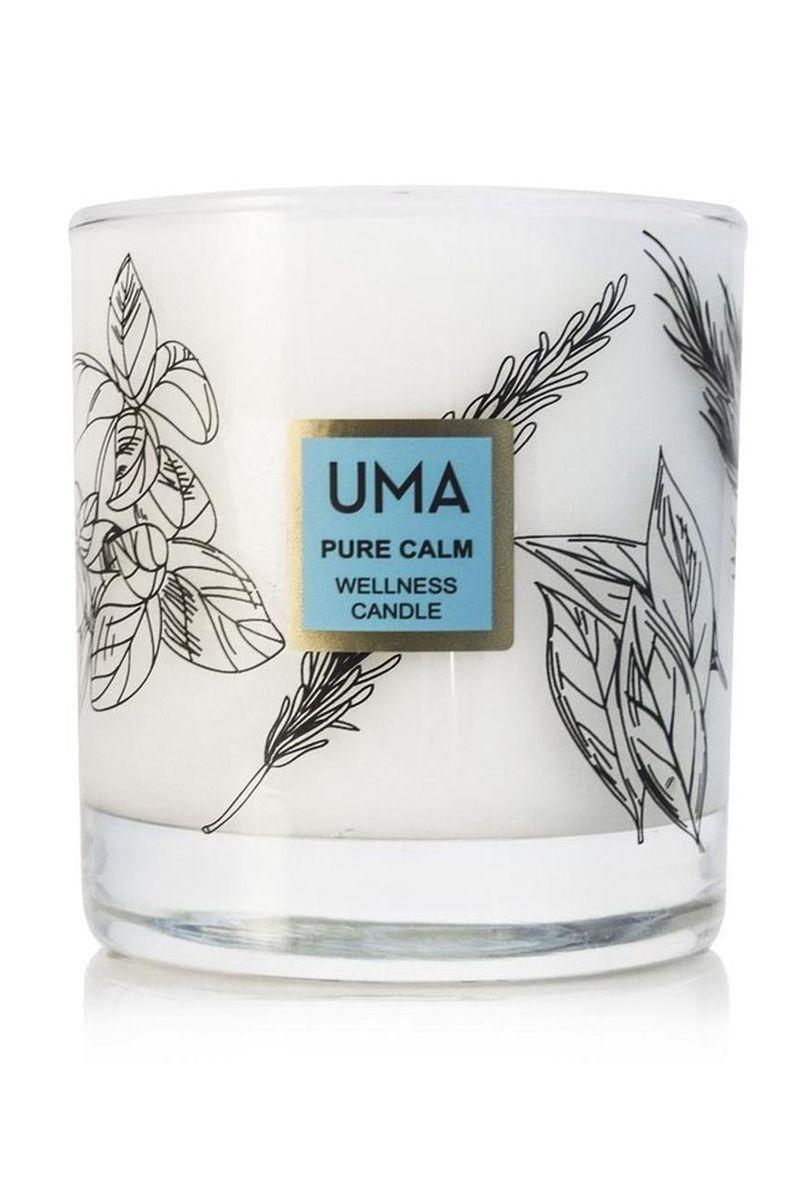 "<p><strong>Pure Calm Wellness Candle</strong></p><p>umaoils.com</p><p><strong>$68.00</strong></p><p><a href=""https://www.umaoils.com/collections/wellness-for-home/products/pure-calm-wellness-candle"" rel=""nofollow noopener"" target=""_blank"" data-ylk=""slk:Shop Now"" class=""link rapid-noclick-resp"">Shop Now</a></p><p>The most gorgeous clean beauty candle (who doesn't need more ""Pure Calm"" in their life?) is 20% off—along with the rest of the entire site—from November 24th to November 30th. </p>"