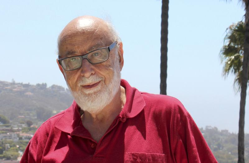 Handout photo of theoretical physicist Francois Englert, won the 2013 Nobel prize for physics