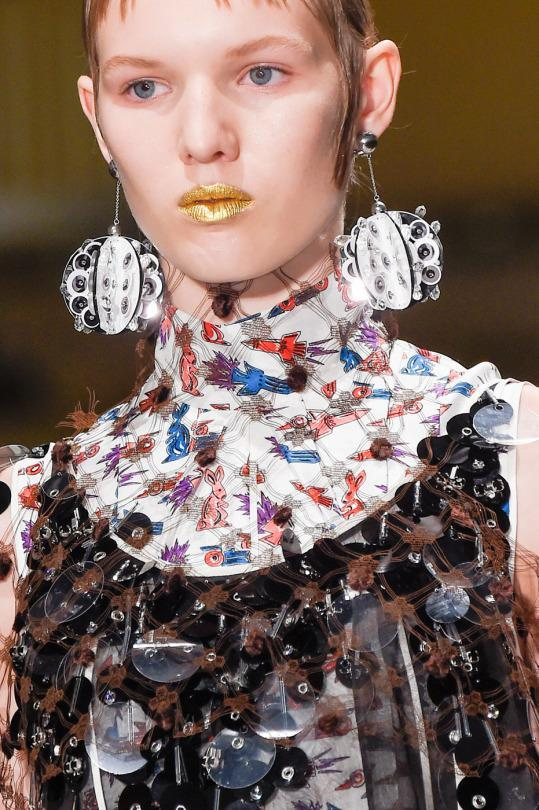 <p>Styling Tip: More is more nowadays, so don't be scared to pair a super statement earring with a statement outfit. </p><p>Photo: ImaxTree<br></p>
