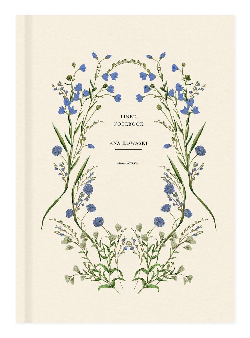 Cornflower Notebook by Mother of Pearl, £19.99 (Papier)