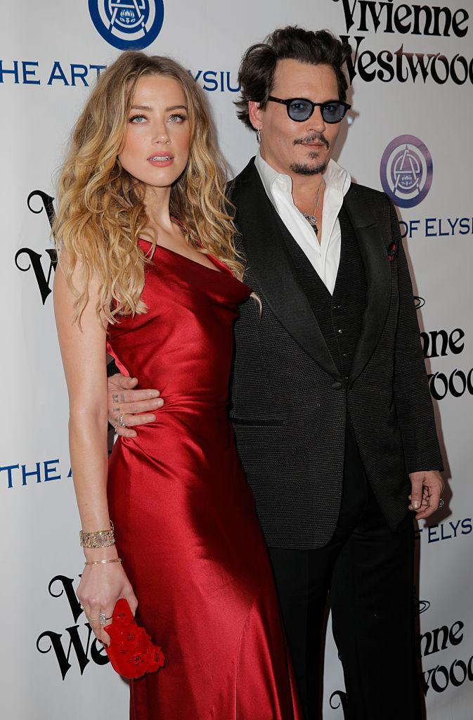 The actress is just about to finalise her divorce from Johnny Depp [Photos: Getty]
