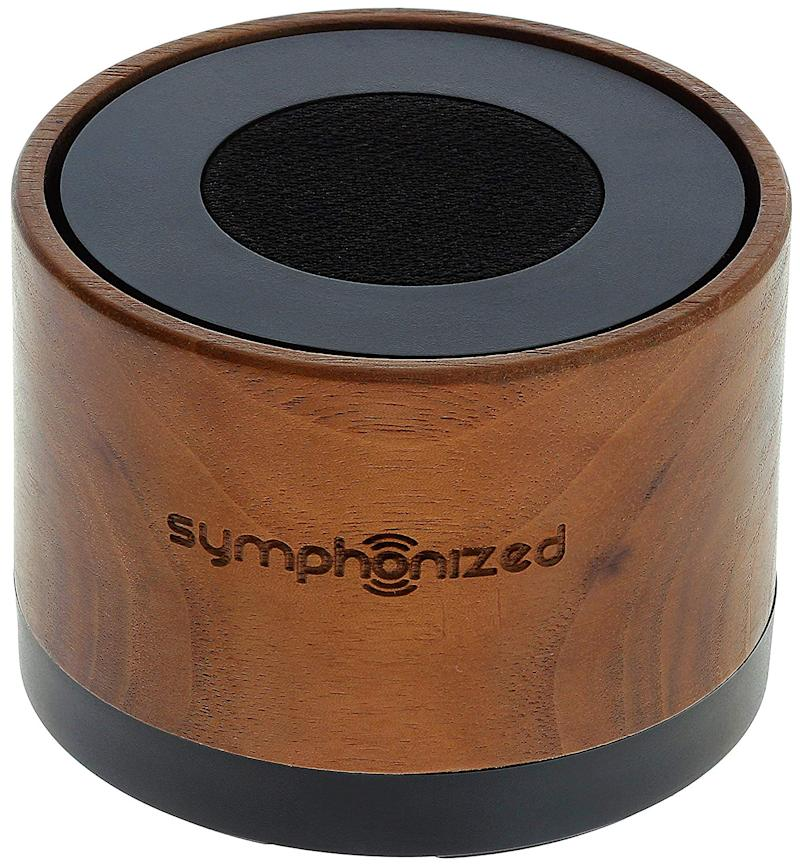 Symphonized NXT Premium Genuine Walnut Wood Bluetooth Portable Speaker. Compatible with All Bluetooth iOS Devices, All Android Devices and Mp3 Players