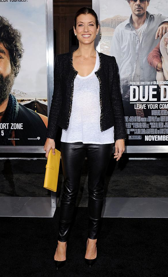 "<a href=""http://movies.yahoo.com/movie/contributor/1800022265"">Kate Walsh</a> attends the Los Angeles premiere of <a href=""http://movies.yahoo.com/movie/1810116445/info"">Due Date</a> on October 28, 2010."