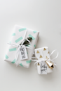 """<p>Cut washi tape into strips or geometric shapes, then stick them onto white butcher paper to add color and visual interest to any box. </p><p>Get the tutorial at <a href=""""https://almostmakesperfect.com/2014/12/22/diy-washi-tape-gift-wrapping/"""" rel=""""nofollow noopener"""" target=""""_blank"""" data-ylk=""""slk:Almost Makes Perfect"""" class=""""link rapid-noclick-resp"""">Almost Makes Perfect</a>.</p><p><a class=""""link rapid-noclick-resp"""" href=""""https://www.amazon.com/Colored-Masking-Decorative-Children-Warpping/dp/B07JD5SCM7/?tag=syn-yahoo-20&ascsubtag=%5Bartid%7C10072.g.34015639%5Bsrc%7Cyahoo-us"""" rel=""""nofollow noopener"""" target=""""_blank"""" data-ylk=""""slk:SHOP WASHI TAPE"""">SHOP WASHI TAPE</a></p>"""