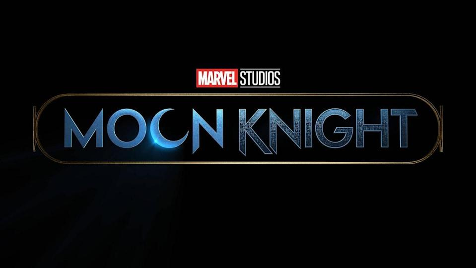 The title card for Marvel Studios' Moon Knight, coming to Disney+.