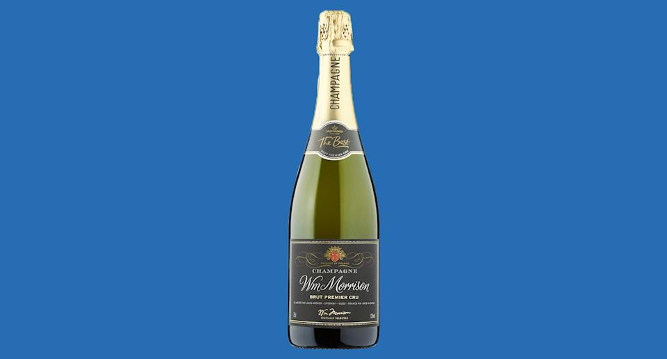 Morrisons Champagne has been crowned the best festive fizz. [Photo: Morrisons]