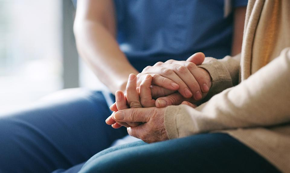 A nurse has helped create hospital 'bereavement bags' for relatives who are being given back loved ones' belongings [Photo: Getty]
