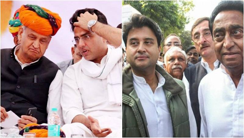 Congress in MP, Rajasthan See Cracks Post Lok Sabha Polls Debacle, Fingers Raised at Kamal Nath And Ashok Gehlot