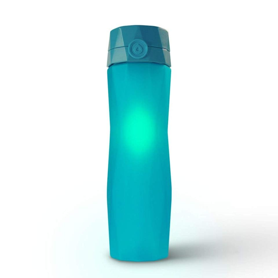 """<p>You'll never forget to hydrate again with the <a href=""""https://www.popsugar.com/buy/Hidrate-Spark-20A-Smart-Water-Bottle-514833?p_name=Hidrate%20Spark%202.0A%20Smart%20Water%20Bottle&retailer=amazon.com&pid=514833&price=60&evar1=savvy%3Aus&evar9=45913800&evar98=https%3A%2F%2Fwww.popsugar.com%2Fhome%2Fphoto-gallery%2F45913800%2Fimage%2F45913887%2FHidrate-Spark-20A-Smart-Water-Bottle&list1=shopping%2Camazon%2Cwater%20bottles%2Cgadgets%2Cgift%20guide%2Ctech%20shopping&prop13=api&pdata=1"""" rel=""""nofollow"""" data-shoppable-link=""""1"""" target=""""_blank"""" class=""""ga-track"""" data-ga-category=""""Related"""" data-ga-label=""""https://www.amazon.com/Hidrate-Spark-Bottle-Tracks-Hydrated/dp/B07RL91TSP/ref=sr_1_1_sspa?keywords=Hidrate+Spark+2.0A+Smart+Water+Bottle&amp;qid=1573238428&amp;sr=8-1-spons&amp;psc=1&amp;spLa=ZW5jcnlwdGVkUXVhbGlmaWVyPUEzNVdWUDhIRVZCUFM4JmVuY3J5cHRlZElkPUEwMjI4ODA0M0NRNzBZSVgySDFTNSZlbmNyeXB0ZWRBZElkPUEwNzgxNTcyMTRBOEI1SU0zQlBYUiZ3aWRnZXROYW1lPXNwX2F0ZiZhY3Rpb249Y2xpY2tSZWRpcmVjdCZkb05vdExvZ0NsaWNrPXRydWU="""" data-ga-action=""""In-Line Links"""">Hidrate Spark 2.0A Smart Water Bottle</a> ($60). The bottle tracks water intake and even glows as a reminder to stay hydrated.</p>"""