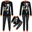 <p>If you want something a little bit darker, grab these cheeky <span>Iusun Matching Family Pajamas in Halloween Letter Print</span> ($18).</p>