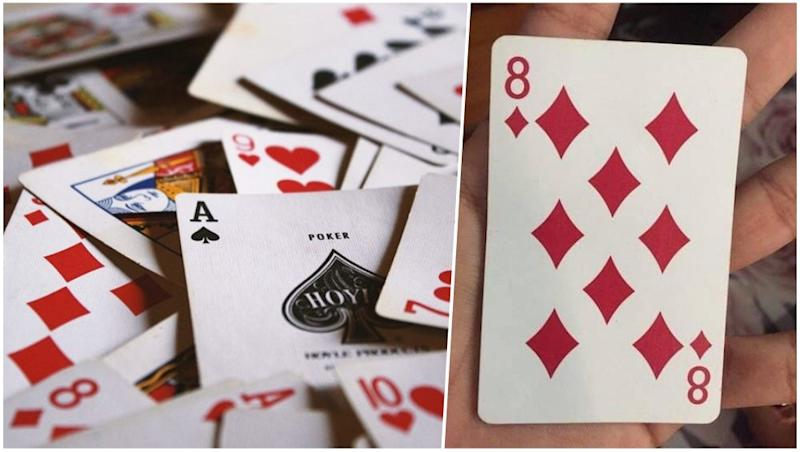 Can You Find the Hidden Number in the 8 of Diamonds Card? Twitterati Are Already Amazed Over the Revelation (View Pics)