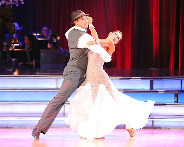 """Ingo Rademacher and Kym Johnson perform on """"Dancing With the Stars."""""""