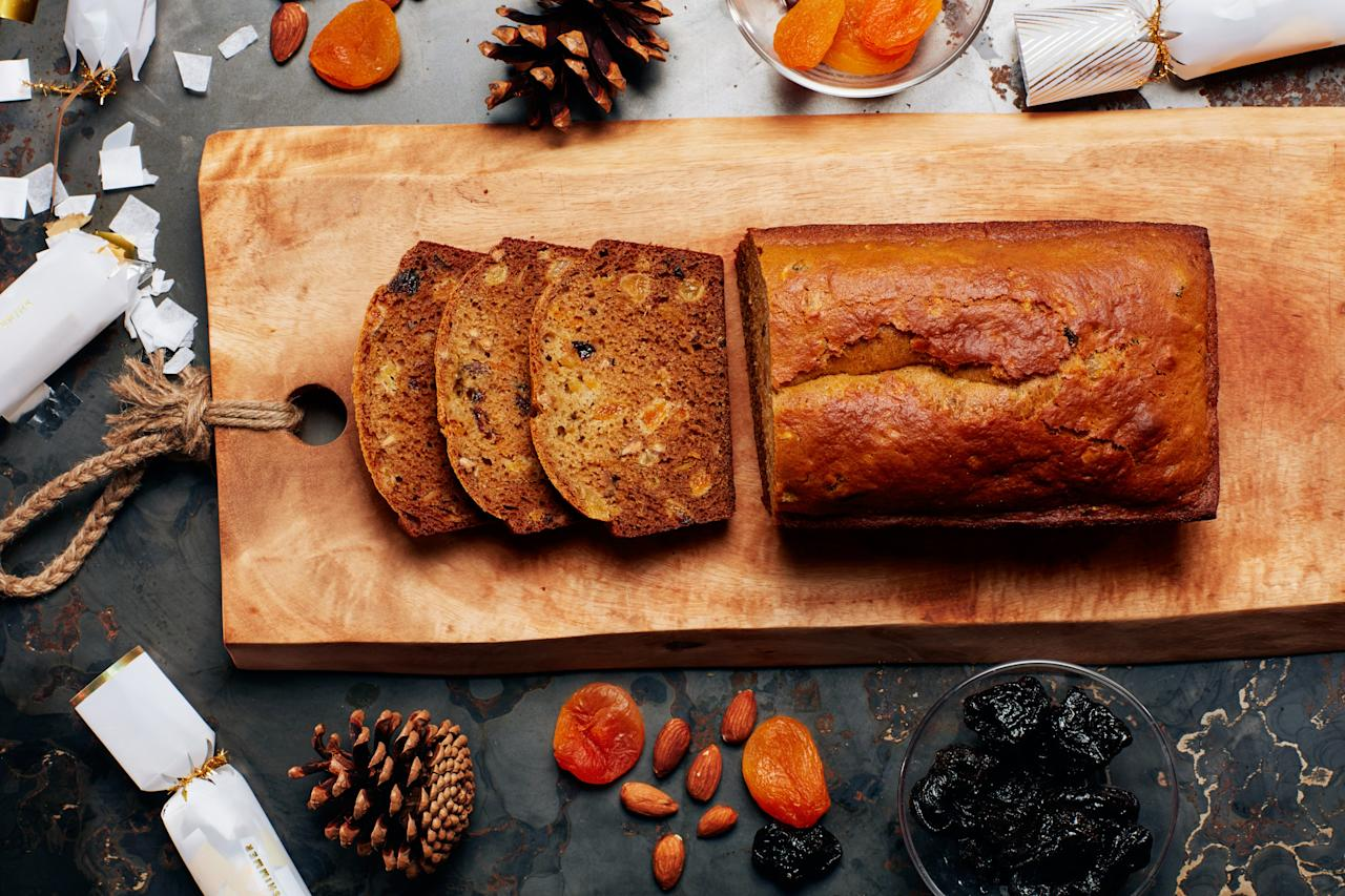 "This classic French spiced bread is flavored with a vibrant mixture of star anise, ginger, and cinnamon from spice blender La Boîte. It's great for a sweet toast in the morning, or it can be sliced thinly and served with pâté for a pretty party appetizer. <a href=""https://www.epicurious.com/recipes/food/views/french-spiced-bread?mbid=synd_yahoo_rss"">See recipe.</a>"