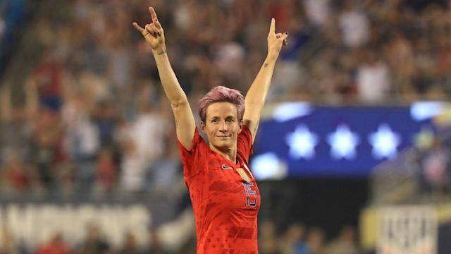 United States star Megan Rapinoe has capped a remarkable 2019 by winning the Women's Ballon d'Or award ahead of Lucy Bronze and Alex Morgan.