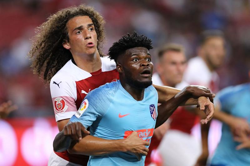 Transfer: Atletico Madrid Rejects Arsenal's Guendouzi, £22.5m Offer For Partey