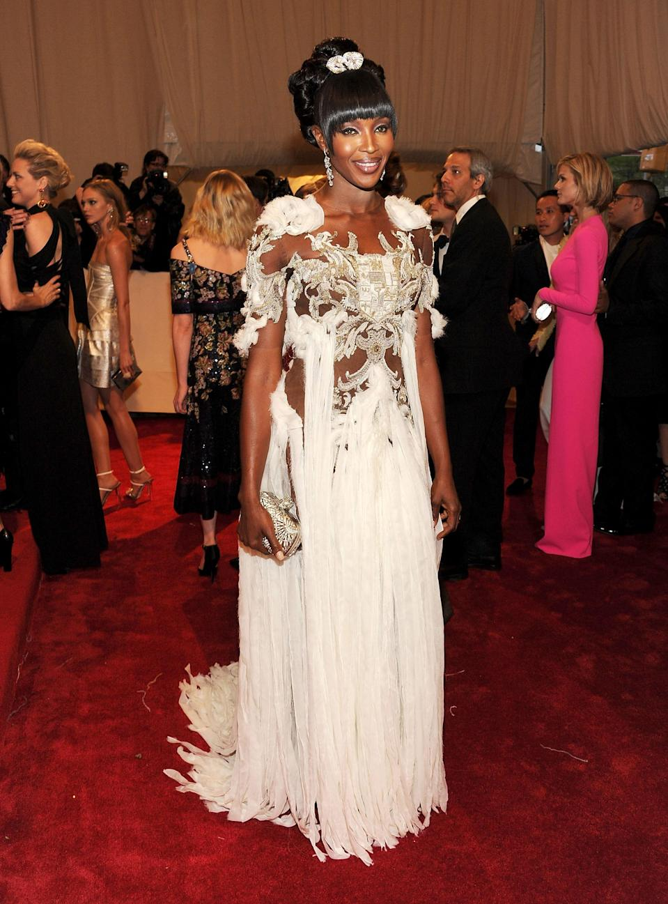"""<h1 class=""""title"""">Naomi Campbell in Alexander McQueen, 2011</h1><cite class=""""credit"""">Photo: Getty Images</cite>"""