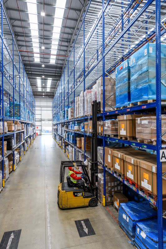 Christmas, coronavirus and fear of no-deal Brexit push Europe's warehouses to the limit