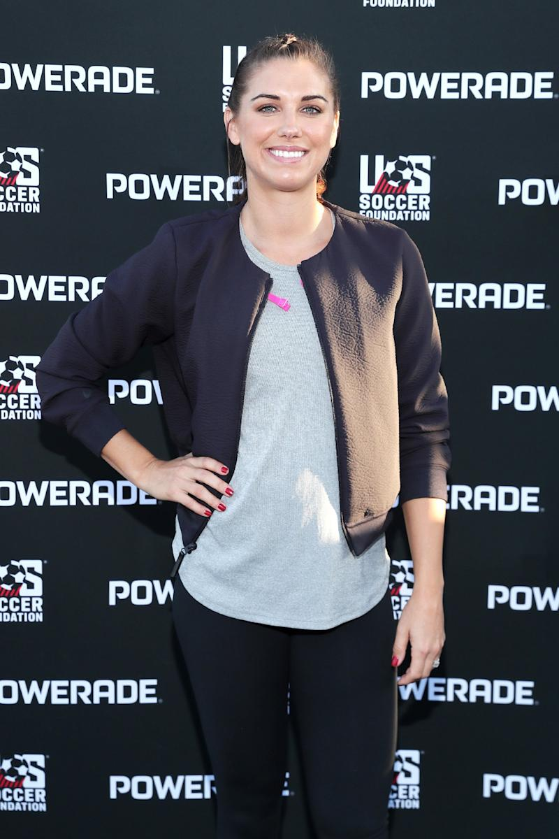 Alex Morgan Says Expecting a Daughter Further 'Validates' Her Fight for Equal Pay