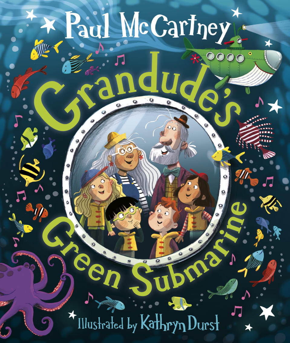 Sir Paul McCartney's second children's picture book is called Grandude's Green Submarine (© MPL Communications)