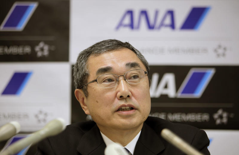 ANA president sees Boeing progress on batteries