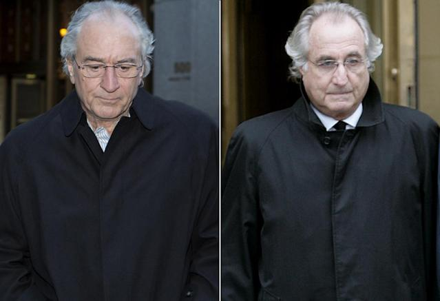 <p>De Niro is one of the great actors of his generation, but he's also indisputably himself. It's hard not to see De Niro rather than Madoff, even if he dons glasses and a balding hair cap. <br><br>(Photo: HBO/AP) </p>