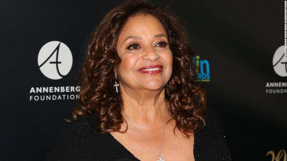 """<p>Actress and dancer Debbie Allen attends the 20th Annual Women's Image Awards at the at Montage Beverly Hills on February 22, 2019 in Beverly Hills, California. </p><div class=""""cnn--image__credit""""><em><small>Credit: Paul Archuleta/Getty Images North America/Getty Images / Getty Images</small></em></div>"""