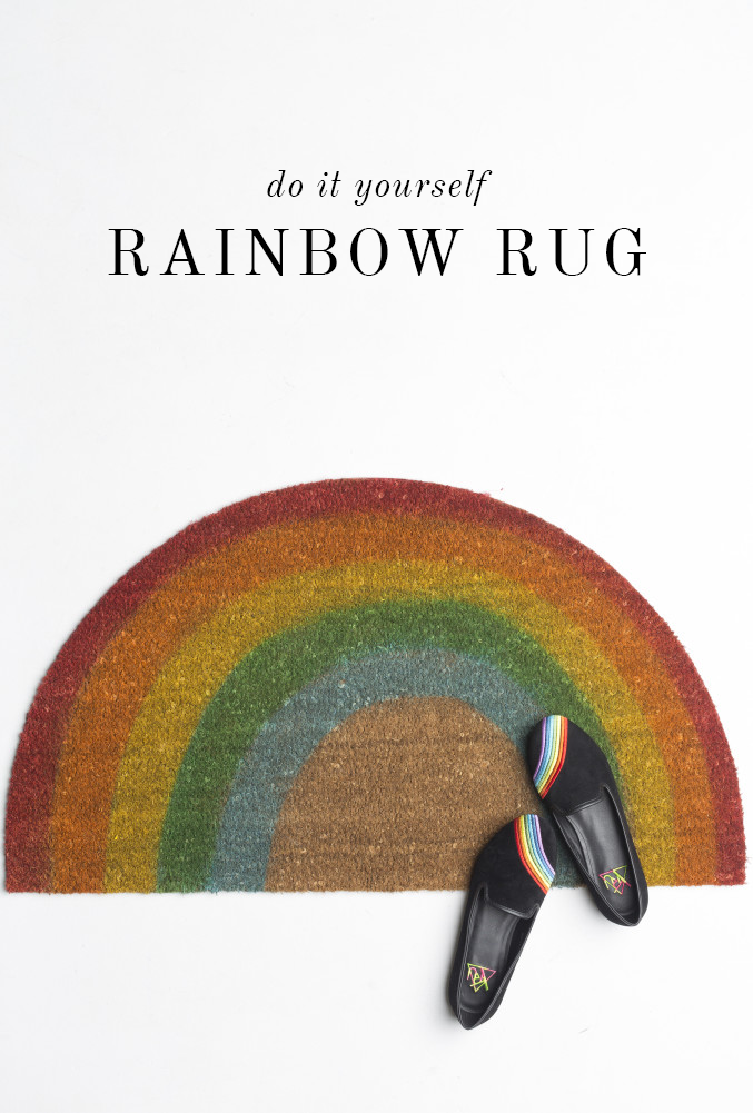 """<p>Roll out the Irish welcome with this fiber doormat painted to look like a rainbow. </p><p><strong>Get the tutorial at <a href=""""https://thehousethatlarsbuilt.com/2015/03/diy-rainbow-welcome-mat.html/"""" rel=""""nofollow noopener"""" target=""""_blank"""" data-ylk=""""slk:The House that Lars Built"""" class=""""link rapid-noclick-resp"""">The House that Lars Built</a>.</strong></p><p><a class=""""link rapid-noclick-resp"""" href=""""https://go.redirectingat.com?id=74968X1596630&url=https%3A%2F%2Fwww.walmart.com%2Fsearch%2F%3Fquery%3Dplain%2Bwelcome%2Bmat&sref=https%3A%2F%2Fwww.thepioneerwoman.com%2Fhome-lifestyle%2Fcrafts-diy%2Fg34931626%2Fst-patricks-day-decorations%2F"""" rel=""""nofollow noopener"""" target=""""_blank"""" data-ylk=""""slk:SHOP WELCOME MATS"""">SHOP WELCOME MATS</a><br></p>"""