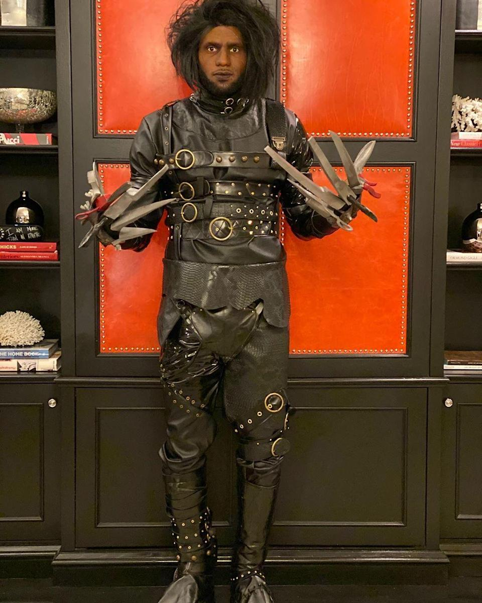 Actually, that's LeDward Scissorhands to you.