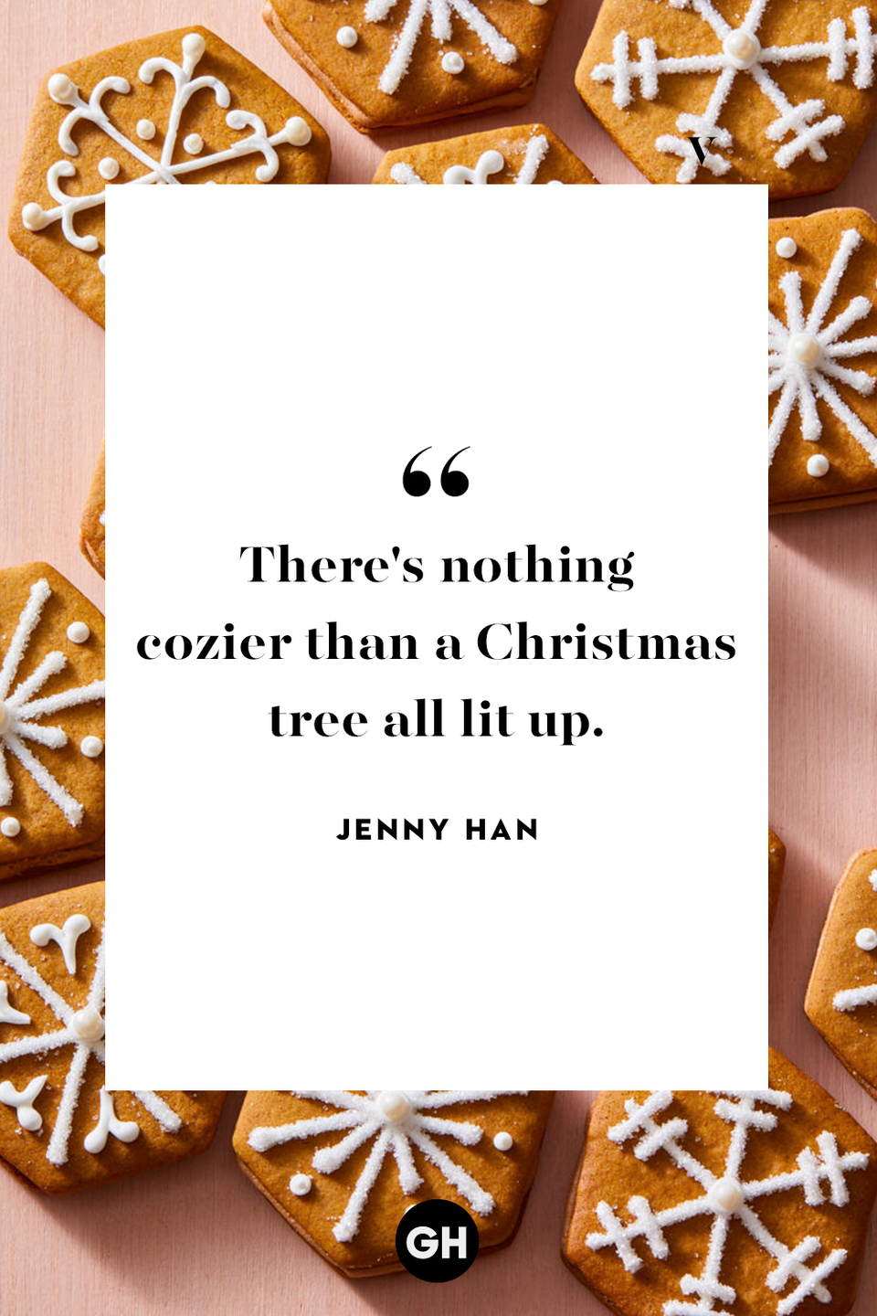 <p>There's nothing cozier than a Christmas tree all lit up.</p>