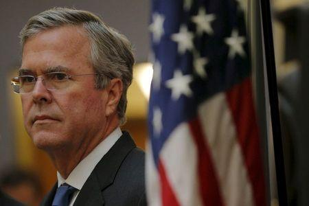 File photo of U.S. Republican presidential candidate Bush at the Devine Millimet FITN Candidate Series Forum in Manchester