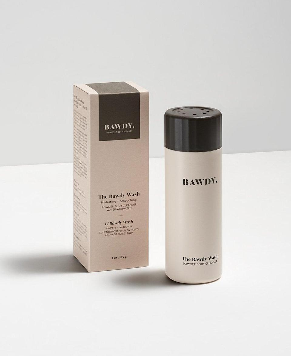 <p><span>Bawdy Beauty The Bawdy Wash</span> ($30) features a just-add-water formula that's rich in nutrients like seaweed (to hydrate the skin) and kaolin (to nourish), and is equivalent to five traditional bottles of body wash.</p>