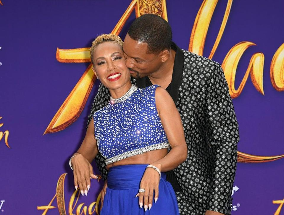 Jada Pinkett Smith celebrates her 50th birthday on Red Table Talk with questions from fellow celebrities (Getty Images)
