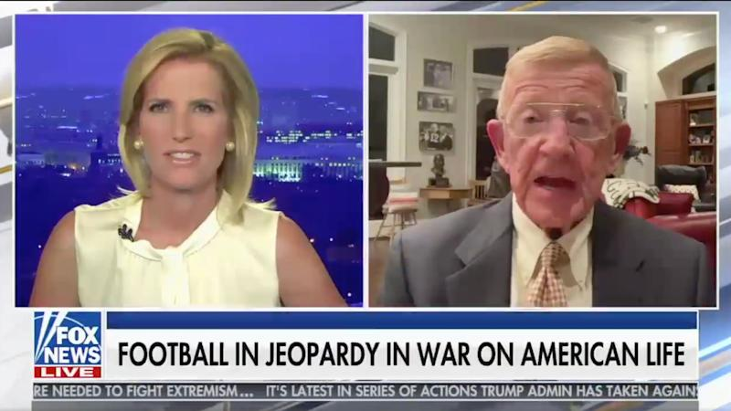 Lou Holtz makes World War II comparison in rant about college football, COVID-19
