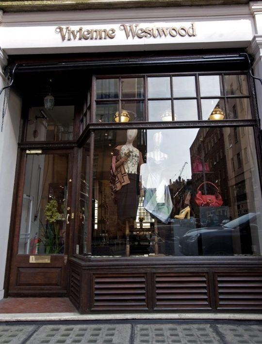 Vivienne Westwood's London store. Photo: Getty