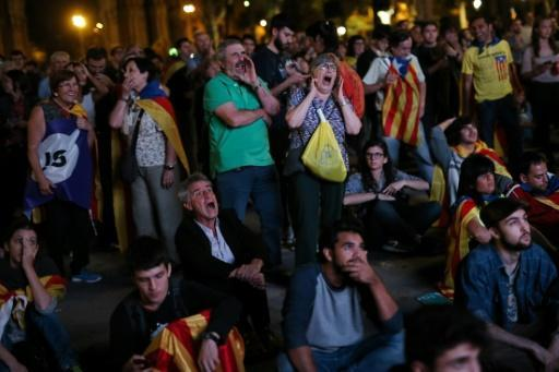 Joy and confusion after Catalan leader's 'independence' speech