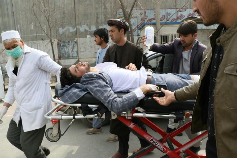 The attack in Kabul which killed 32 people and wounded dozens came a week after the US signed a deal with the Taliban
