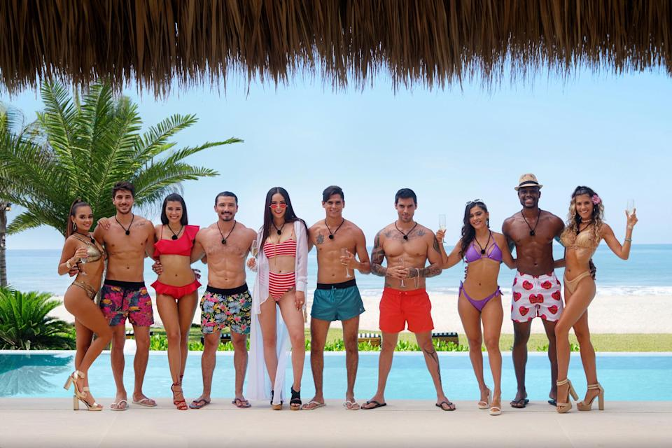 """<em><strong>Too Hot To Handle Latino</strong></em><br><br>If you've been a reality TV head for a while, you'll know that <em>Too Hot To Handle</em> is Netflix's wildly addictive dating show. Now the US series is heading to a new tropical paradise with contestants from Latin America and Spain in tow. Will the singles be able to stave off sexual desire in order to win the competition's $100,000 grand prize? You'll have to tune in to find out. <br><br>Available 14th September<span class=""""copyright"""">Photo Courtesy of Netflix.</span>"""
