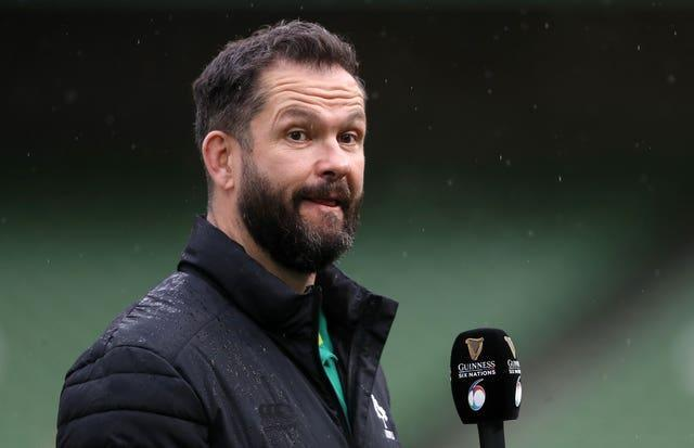 Andy Farrell's Ireland host Japan and the United States next month